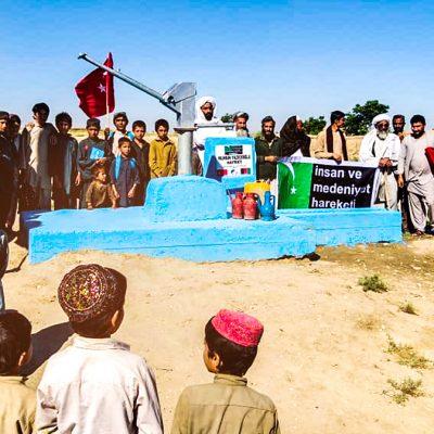 Muhsin Yazıcıoğlu Su Kuyumuz Afganistan'da Açıldı!